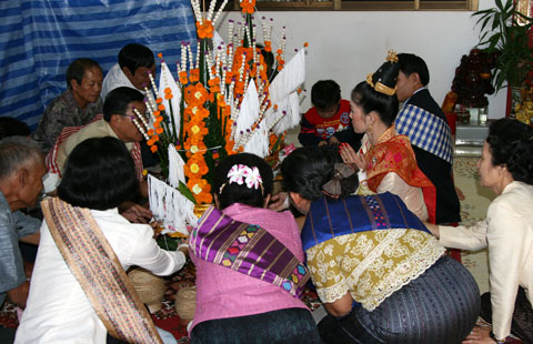 Lao Traditional Wedding