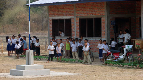 NongDong Elementary School in Champassak