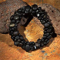 obsidian-pebble