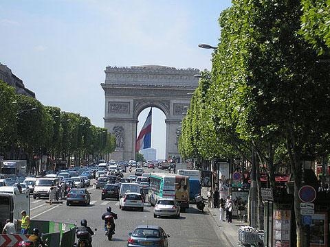 Arc de Triumph (Champs Elysees) - Paris, France by rcmedia196903