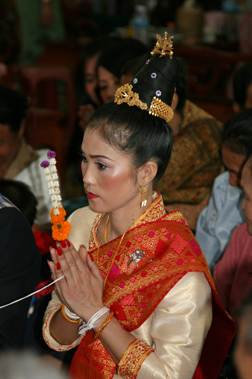 Lao Traditional Wedding Nye Noona