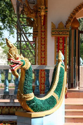 Naga at Wat Phra That Phoun