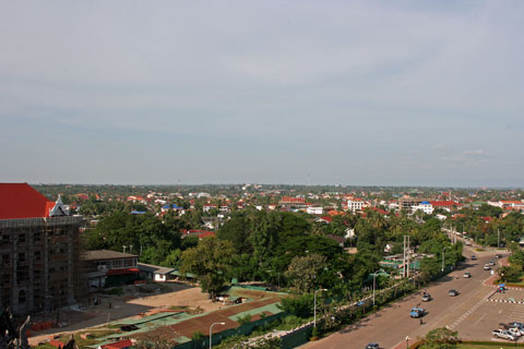 View from Patuxay