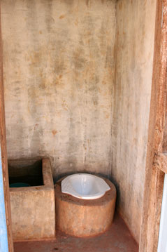 Dannavieng Elementary School- bathroom