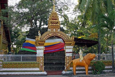 City Pillar, home of Jao Mae Simuang