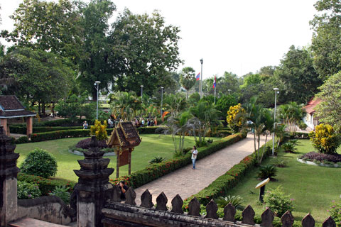 Hor Phra Keo Courtyard