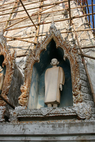 Monk figure