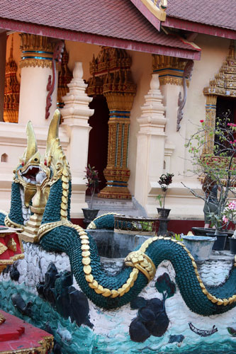 Naga at Wat Chan