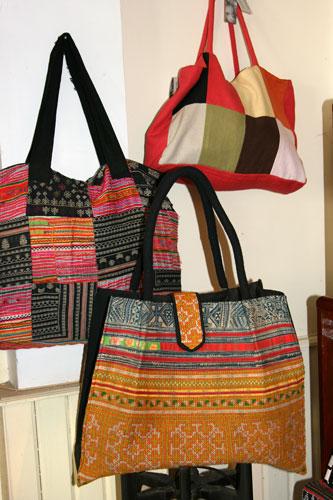 Lao Ethnic bags