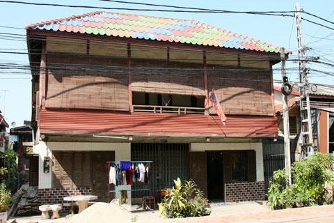 In Vientiane Laos