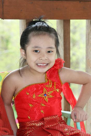 Lao girl