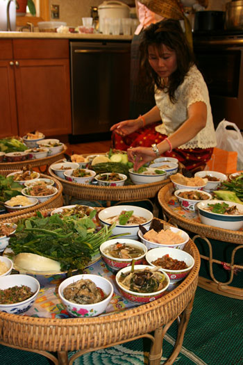 Food for monks