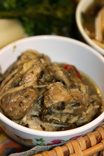 Lao fish soup, aka Ur Pa