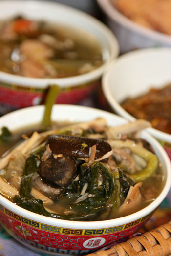 Lao mixed vegetable soup