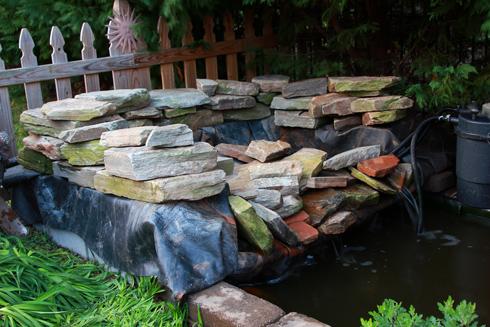Wip Koi Pond Waterfalls Nye Noona
